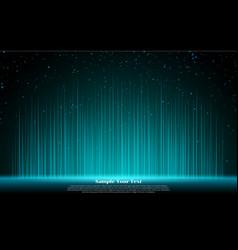 glowing light lines glow linear effect blue neon vector image