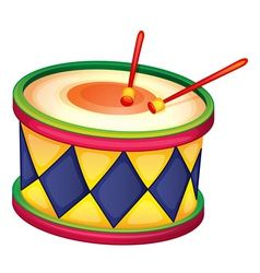 a drum vector image