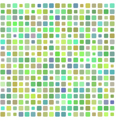 Background of colored green mosaic vector