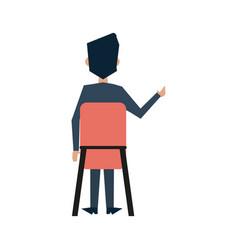businessman avatar icon image vector image