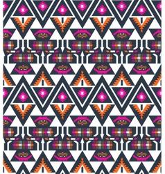 Navajo seamless colorful tribal pattern vector image