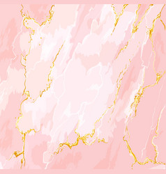 pink marble design template vector image