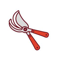 pruner vector image