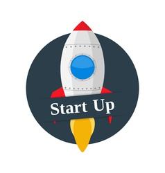 Start Up Banner vector image