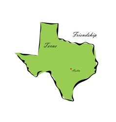 State texas vector