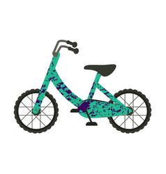 Velo bike on white background vector