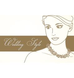 Wedding Background vector image