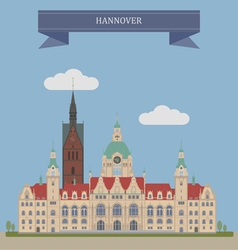 Hannover vector image