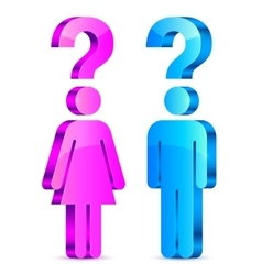Understand Men and Women Concept vector image