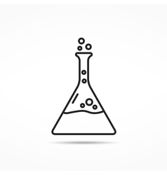 Chemistry Line Icon vector image vector image