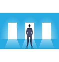 Choice business concept vector