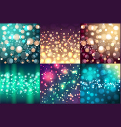 Creative bokeh universal texture abstract colorful vector
