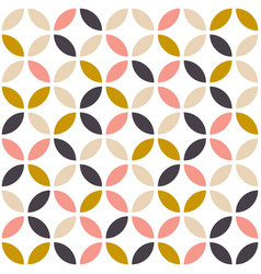 Geometric seamless pattern in scandinavian vector