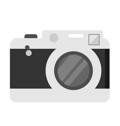 isolated pocket camera white vector image