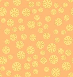 lemon pattern seamless background vector image