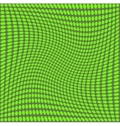 Optical green on a gray background vector
