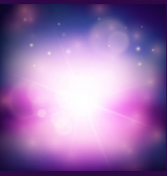 Purple magical abstract background vector