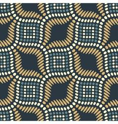 Reptile grid ornament vector