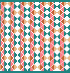 retro abstract geometric background design vector image