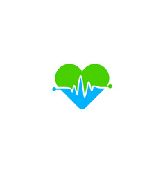 roamce medical logo icon design vector image