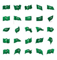 Saudi arabia flag vector
