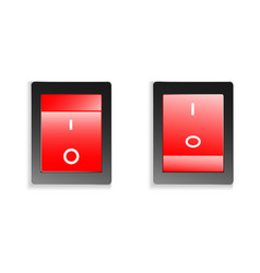 Switch on off vector