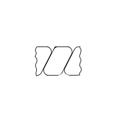 wring laundry icon black on white vector image