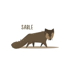 Sable vector image