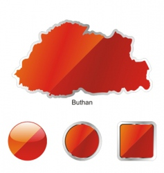 buthan vector image