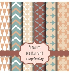 Collection of Digital Papers vector