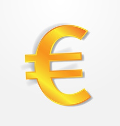 Euro currency signs vector