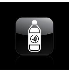 fruit juice icon vector image