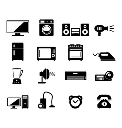 Home Devices vector image