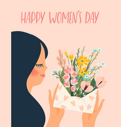 International women s day templates with vector