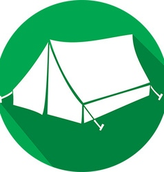 Tent Icon vector image