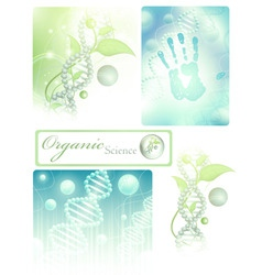 science collection vector image vector image