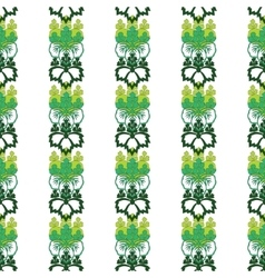 Floral ornamental vector