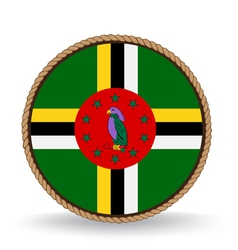 Dominica Seal vector image