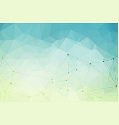 Light blue polygonal background vector