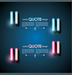 glow quotes vector images over