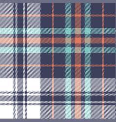 tartan check plaid pattern background vector image