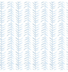 tropical leaves ornamental seamless pattern vector image