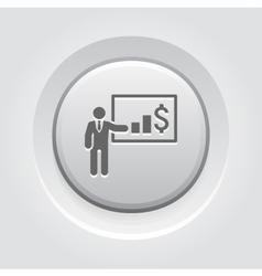 Presentation Icon Business Concept vector image