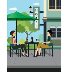 Restaurants Hotels vector image vector image