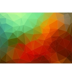 Abstract Two-dimensional colorful background vector image vector image