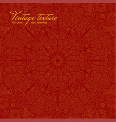 red ornate background for cards vector image vector image