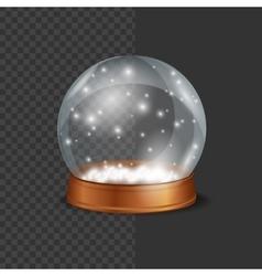 Crystall Ball Snow vector image