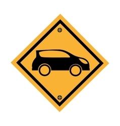 car parking signal icon vector image