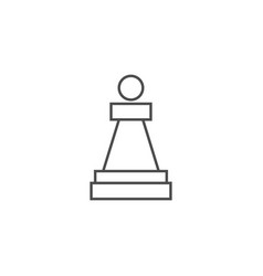 Chess piece pawn vector