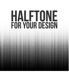 Halftone lines abstract background vector